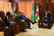 Peacekeeping Chief and AU Commissioner Meet President of Central African Republic 4.16884