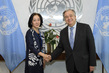 Secretary-General Meets Special Representative for Disaster Risk Reduction 1.0