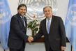 Secretary-General Meets President of Parliamentary Assembly of the Mediterranean