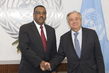 Secretary-General Meets Deputy Prime Minister of Ethiopia