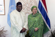 Deputy Secretary-General Meets President of Gambia
