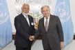 Secretary-General Meets Chief Negotiator for Maritime Boundaries of Timor-Leste