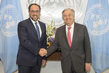 Secretary-General António Guterres Meets Foreign Minister of Afghanistan
