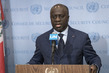 Press Briefing by Foreign Minister of Côte d'Ivoire