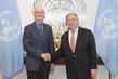 Secretary-General Meets President Emeritus of Jacques Delors Institute 2.847443