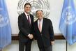 Secretary-General Meets President of International Rescue Committee 2.8465152