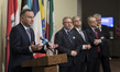 President of Poland Briefs Press on International Peace and Security 3.1908817