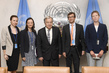 Secretary-General Meets Director of International Service for Human Rights 1.0