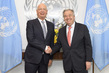 Secretary-General Meets Founder and Executive Chairman of World Economic Forum 2.8502333