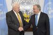 Secretary-General Meets U.S. Representative on UNICEF Executive Board 2.8502333