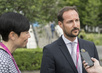 Crown Prince and Foreign Minister of Norway Speak to Press at UN Headquarters 1.0