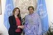 Deputy Secretary-General Meets Deputy Prime Minister of Albania 7.2013726