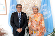 Deputy Secretary-General Meets National Secretary of Planning and Development of Ecuador 7.2013726