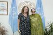 Deputy Secretary-General Meets Deputy Minister for International Development of Canada 7.2013726