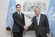 Secretary-General Meets Deputy Foreign Minister of Turkmenistan 2.852179