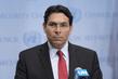 Permanent Representative of Israel Speaks to Press 3.1862292