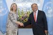 New Permanent Representative of Italy Presents Credentials 1.0