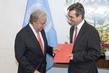 New Permanent Observer of IFRC Presents Credentials 1.0