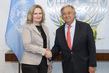 Secretary-General Meets Team Leader for Independent Review of MINURSO