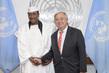 Secretary-General Meets President of University Cheikh Ahmadou Bamba 2.85356