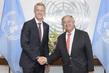 Secretary-General Meets Director-General of Global System Mobile Association 1.0
