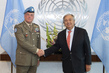 Secretary-General Meets Head of Mission and Force Commander of UNIFIL