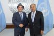 Secretary-General Meets Ed Royce, United States Congressman