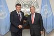 Secretary-General Meets Secretary-General of WMO 2.8558156