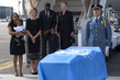Casket Carrying Remains of Former Secretary-General Leaves Geneva for Ghana