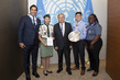 Secretary-General Meets Scout Movement Messengers of Peace Heroes 2.8552866