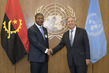 Secretary-General Meets President of Angola
