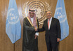 Secretary-General Meets Foreign Minister of Saudi Arabia