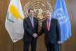 Secretary-General Meets President of Cyprus 2.8578708