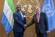 Secretary-General Meets President of Sierra Leone 2.8578708