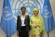 Deputy Secretary-General Meets DRC Presidential Adviser on Sexual Violence 7.207015