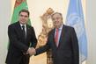 Secretary-General Meets President of Turkmenistan 2.8578708