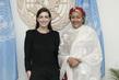 Deputy Secretary-General Meets UN Women Goodwill Ambassador 7.2119403