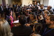 Representative of Cuba Speaks to Press 1.0