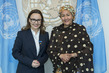 Deputy Secretary-General Meets Minister of State at Federal Foreign Office of Germany 7.2119403