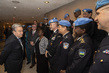 Secretary-General Meets Heads of United Nations Police