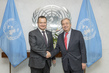 Secretary-General Meets First Prime Minister of Serbia