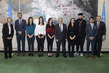 Secretary-General Meets Palestinian Media Trainees 4.2301936