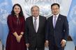 Secretary-General Meets Honorary Chairman of Shenzhen World Health Foundation 2.8568692