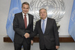 Secretary-General Meets Former Prime Minister of Spain