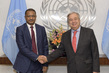 Farewell Call by Permanent Representative of Mauritania