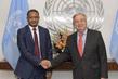 Farewell Call by Permanent Representative of Mauritania