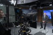 USG of UN Counter-Terrorism Office in Studio for Interview 7.2119403
