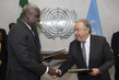 Signing Ceremony of Joint Declaration between AU and UN 2.8585076