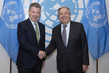 Secretary-General Meets Former President of Colombia 2.8585076