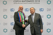 Secretary-General Meets Minister of Tourism of South Africa at COP24 3.7723846